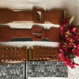 Accessories - Belts lot of 4!